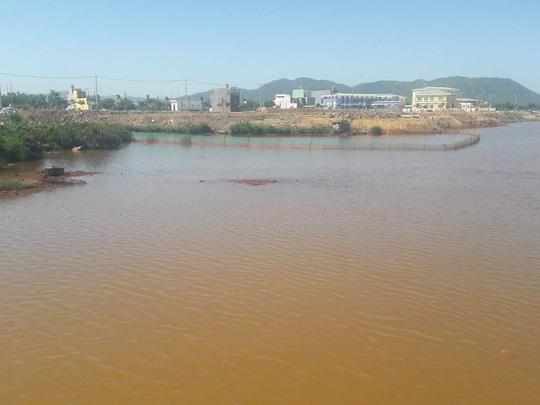 Sông Cu Đê tiếp tục đục ngầu kèm theo hiện tượng cá chết - Ảnh 4.