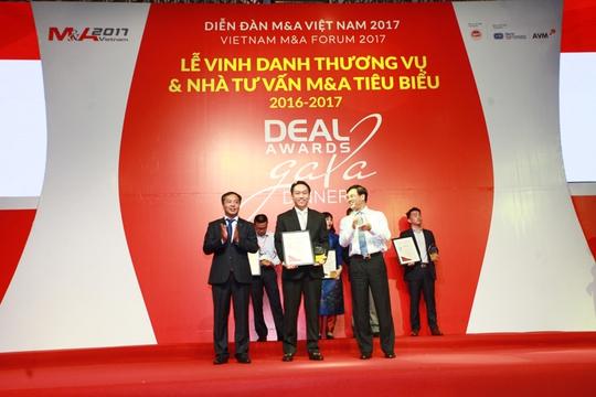 SonKim Land nhận giải thưởng thương vụ bất động sản tiêu biểu nhất Việt Nam 2016 - 2017 - Ảnh 1.