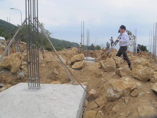 Công trình xây dựng không phéo ở Sơn Trà