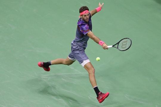 Hạ gọn Del Potro, Nadal vào chung kết US Open - Ảnh 2.