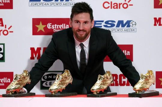 Gia đình Messi đáng yêu tại lễ trao giải Chiếc giày vàng - Ảnh 5.