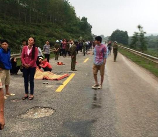 Hiện trường vụ tai nạn thảm khốc khiến 3 mẹ con thương vong