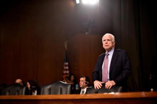 Ông John McCain đề xuất khoản chi tiêu quân sự 7,5 tỉ USD trong 5 năm cho khu vực châu Á-Thái Bình Dương. Ảnh: Reuters