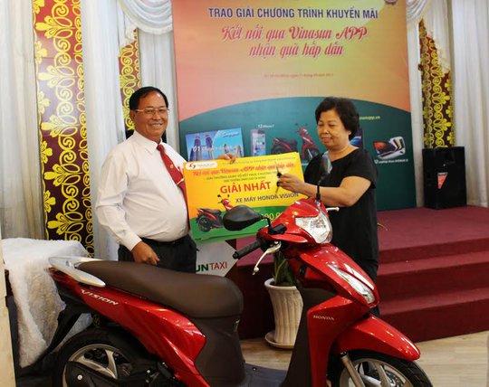 Vinasun trao thưởng chương trình tri ân khách hàng - Ảnh 1.