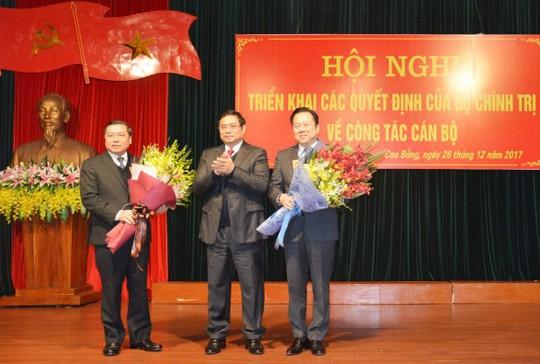 Ông Nguyễn Hoàng Anh thôi Bí thư Cao Bằng để nhận nhiệm vụ mới - Ảnh 1.