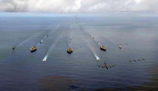 3 tàu sân bay Mỹ sắp phô trương sức mạnh ở Thái Bình Dương - Ảnh 3.