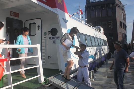 Tàu cao tốc TP HCM - Cần Giờ - Vũng Tàu sắp hoạt động - Ảnh 1.