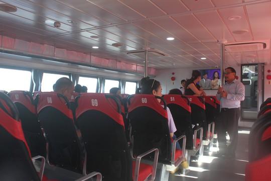 Tàu cao tốc TP HCM - Cần Giờ - Vũng Tàu sắp hoạt động - Ảnh 2.