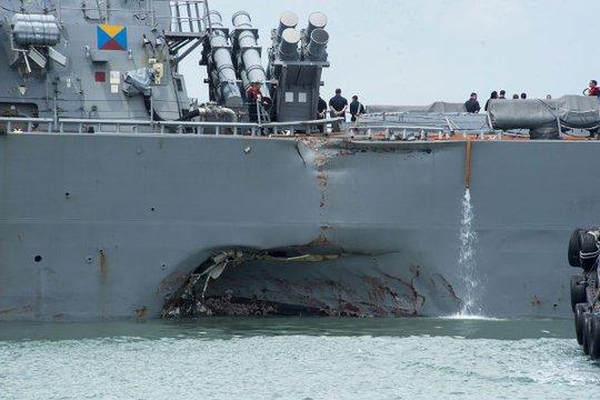 Mỹ tiếp tục đại phẫu Hạm đội 7 - Ảnh 1.