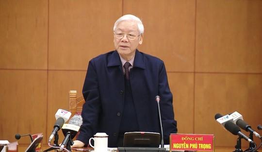 Tổng Bí thư lần đầu dự, chỉ đạo Hội nghị Chính phủ - Ảnh 1.