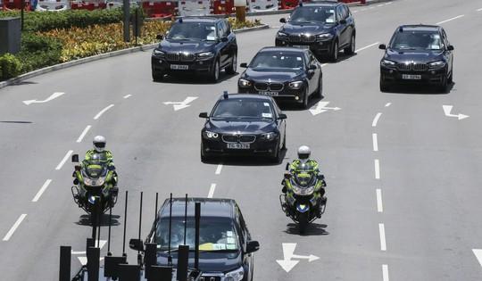 Tiết lộ về chiếc xe chở Chủ tịch Trung Quốc tại Hồng Kông - Ảnh 2.