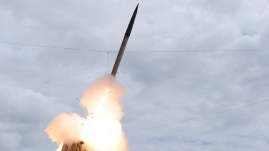 Hình ảnh diễn tập của THAAD vào năm 2009. Ảnh: Cơ quan Phòng thủ tên lửa Mỹ
