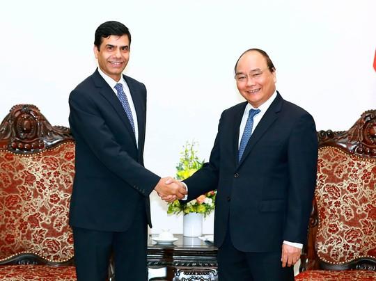 Thủ tướng Nguyễn Xuân Phúc tiếp ông Gyan Chandra Acharya, Phó Tổng Thư ký Liên Hiệp QuốcẢnh: TTXVN