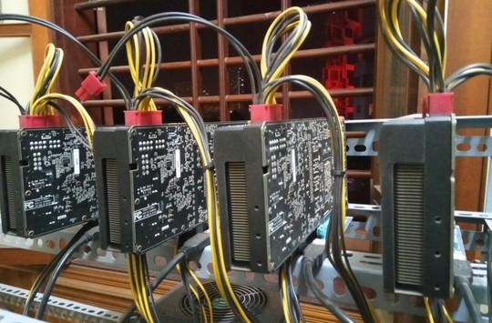Tận mắt thấy dàn trâu đào tiền ảo Bitcoin tiền tỉ ở Hà Nội - Ảnh 3.