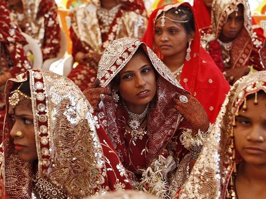 Đàn ông Hồi giáo ở Ấn Độ được phép ly dị vợ chỉ bằng 3 từ. Ảnh: REUTERS