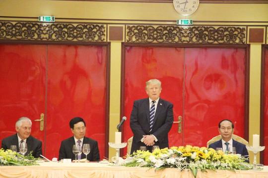 Tổng thống Donald Trump: Việt Nam là một trong những điều kỳ diệu của thế giới - Ảnh 8.