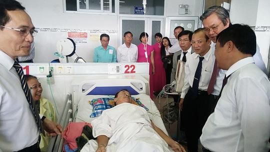 Ninh Thuận: Hoàn tất chuyển giao kỹ thuật can thiệp tim mạch tại chỗ - Ảnh 1.