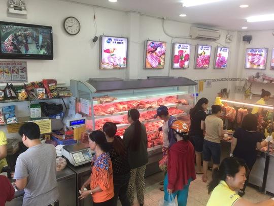 Thịt heo Hòa Phát ra thị trường - Ảnh 1.