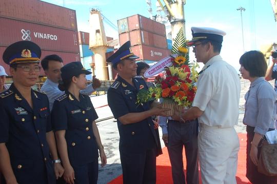 Tàu của Lực lượng Bảo vệ bờ biển Nhật Bản thăm Đà Nẵng - Ảnh 1.