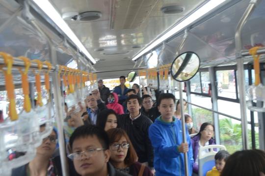 Xe buýt nhanh BRT đã được sử dụng ở Hà Nội