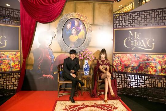 Dàn sao Việt xúng xính áo dài lên thảm đỏ - Ảnh 19.