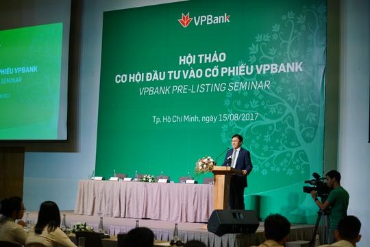 Nhà đầu tư nước ngoài đăng ký chi 1,2 tỉ USD mua cổ phiếu VPBank - Ảnh 1.