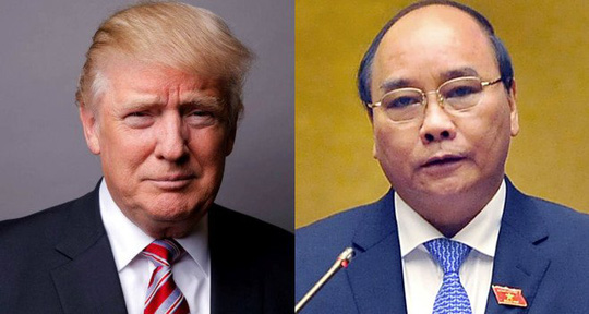 Tổng thống Donald Trump tiếp Thủ tướng Nguyễn Xuân Phúc tại Nhà Trắng - Ảnh 1.