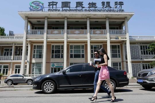 Ngân hàng Trung Quốc Dân sinh Ảnh: REUTERS