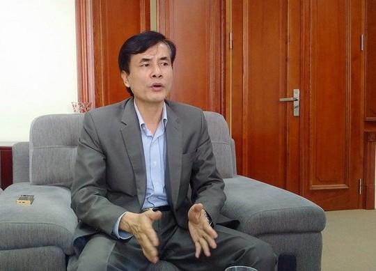Ông Trần Văn Thọ, Cục phó Cục Đường thuỷ nội địa - Bộ GTVT, trả lời báo Người Lao Động sáng 16-3