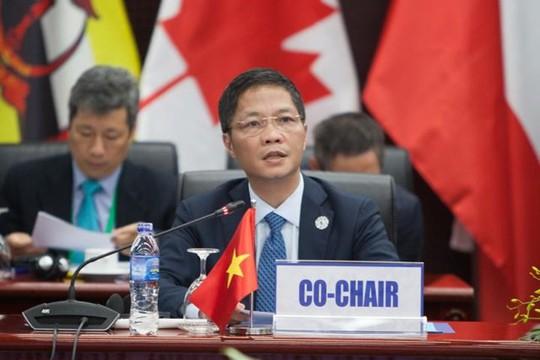 Bộ trưởng TPP-11 thống nhất ra tuyên bố chung - Ảnh 1.