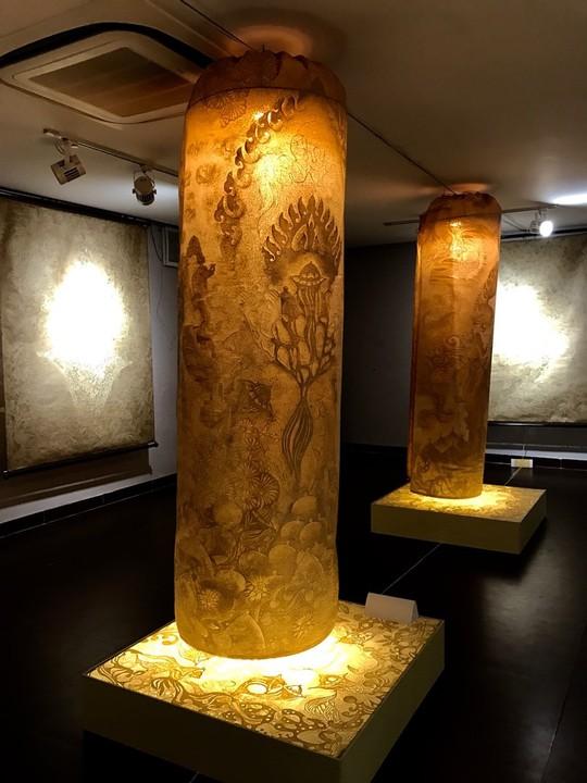 Triển lãm nghệ thuật trúc chỉ lần đầu tiên ở Đà Nẵng - Ảnh 5.
