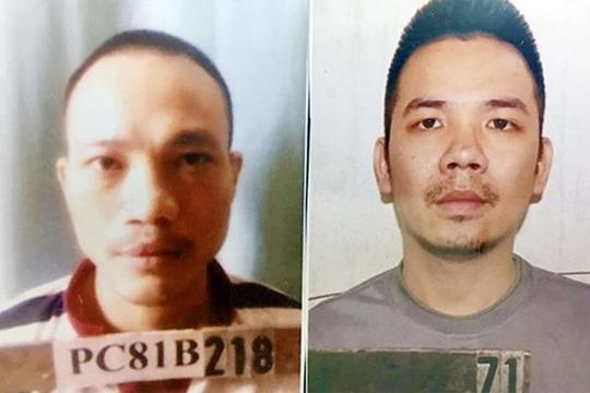Hai tử tù khoét tường phòng biệt giam, đu dây ra ngoài tẩu thoát - Ảnh 2.