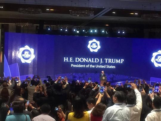Tổng thống Mỹ ở APEC 2017: Chúng ta không còn là kẻ thù! - Ảnh 3.