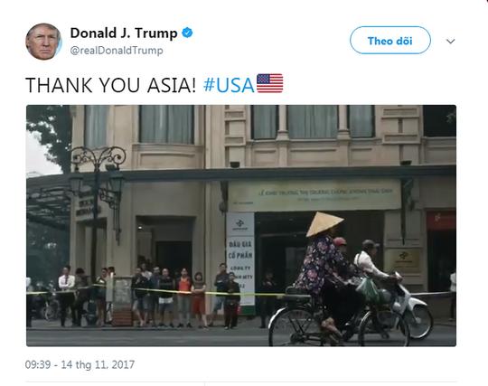 Người phụ nữ Việt Nam trong video cảm ơn của tổng thống Mỹ - Ảnh 1.