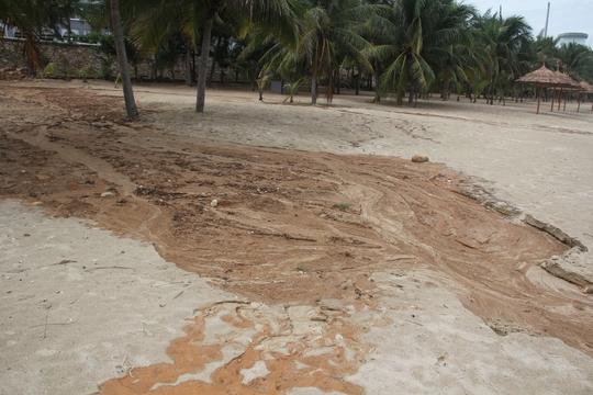 Công trình 40 móng biệt thự ở Sơn Trà đẩy bùn đất xuống biển - Ảnh 4.