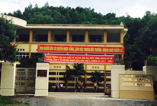 Trộm đột nhập Trung tâm Y tế huyện lấy nhiều tài sản - Ảnh 1.