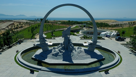 Chiêm ngưỡng Khu tưởng niệm Gạc Ma từ trên không - Ảnh 5.