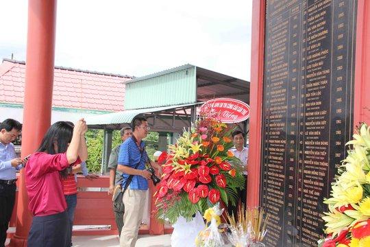 Tưởng niệm 55 công nhân tử vong vụ sập nhịp dẫn cầu Cần Thơ - Ảnh 3.