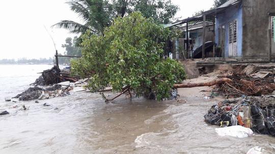 Đà Nẵng: Kè biển sạt lở, 54 nhà dân có nguy cơ bị cuốn trôi - Ảnh 1.