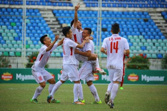 Thua ngược Myanmar 5 phút cuối, U18 Việt Nam bị loại cay đắng - Ảnh 1.