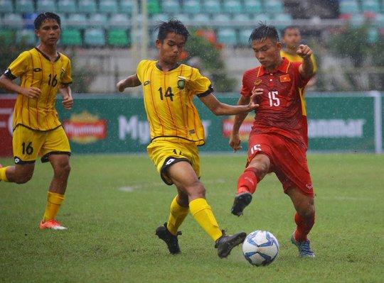 U18 của HLV Hoàng Anh Tuấn đại thắng ngày ra quân - Ảnh 3.