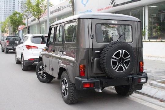 Xe SUV của Nga giá từ 460 triệu đồng tại Việt Nam