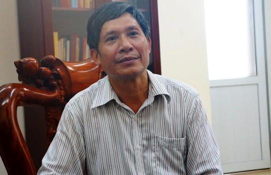 Ông Phan Quang Vinh, Phó trưởng Ban Tổ chức Tỉnh ủy Thanh Hóa, trả lời báo chí chiều ngày 31-3