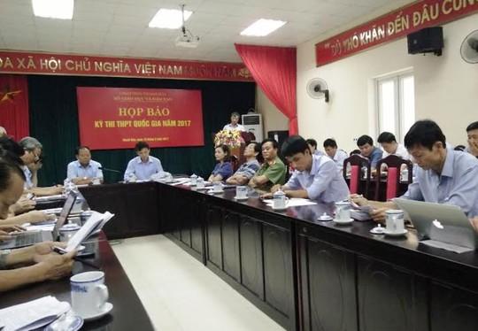 Hội đồng thi Thanh Hóa có 2 thí sinh thi Tiếng Trung - Ảnh 1.