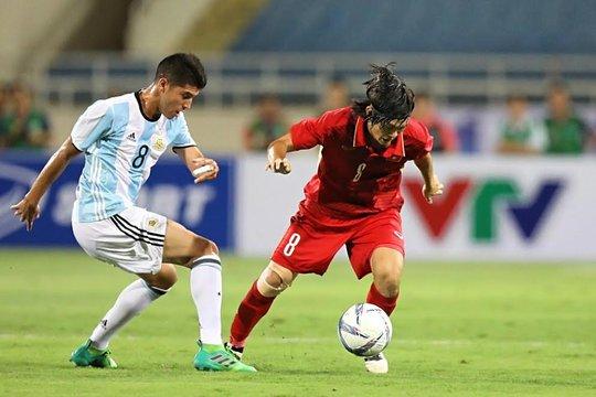 U22 Việt Nam không ghi nổi bàn danh dự trước U20 Argentina - Ảnh 5.