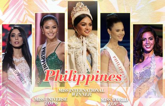 Philippines khẳng định vị thế cường quốc nhan sắc