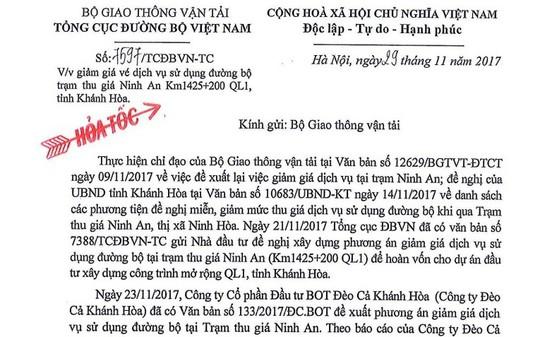 Xe đưa tiền lẻ lại đại náo BOT Ninh An - Ảnh 4.