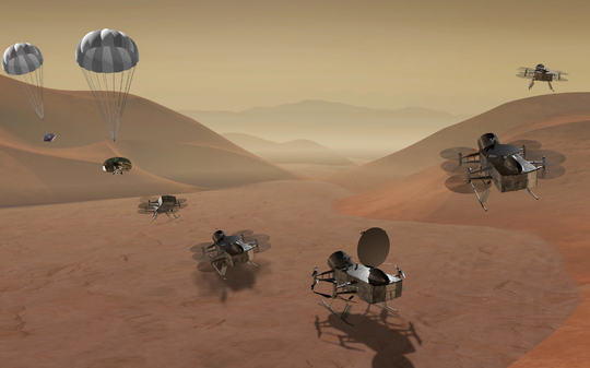 NASA tung chuồn chuồn máy lên mặt trăng của sao Thổ - Ảnh 1.