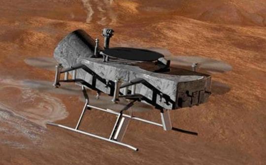NASA tung chuồn chuồn máy lên mặt trăng của sao Thổ - Ảnh 4.