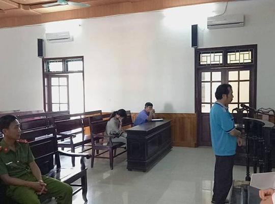 Bị cáo Trần Văn Đức tại phiên tòa sáng 22-3